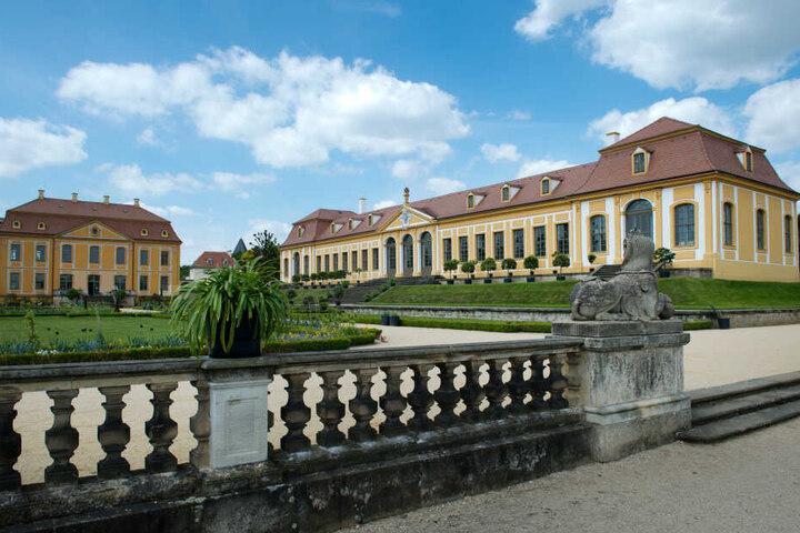 In unmittelbarer Nähe des geplanten Industrieparks befindet sich der 300 Jahre alte Barockgarten Großsedlitz.