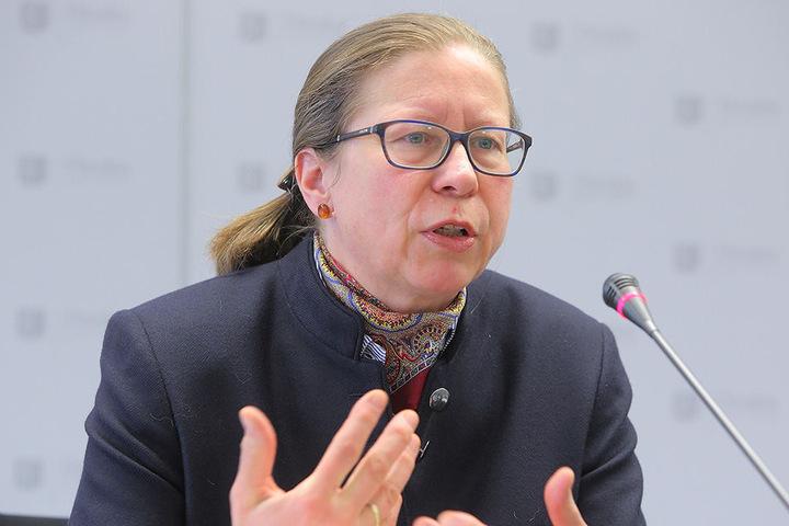 Sabine Bibas (52), Chefin des Amtes für Kindertagesbetreuung