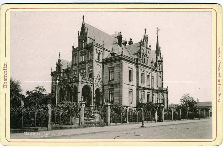 Die Villa Zimmermann in der zweiten Hälfte der 1880er-Jahre.