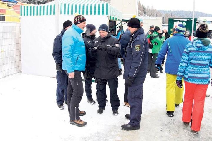 Doppelte Polizei hält besser - das zeigt die erfolgreiche Zusammenarbeit rund um den Weltcup.