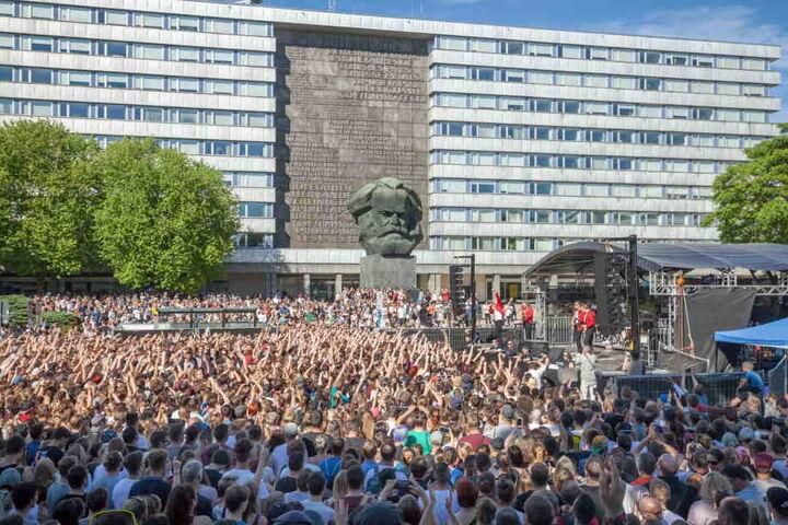 Chemnitz: Toten Hosen, Kraftklub, Casper und Materia geben Konzert gegen Rechts
