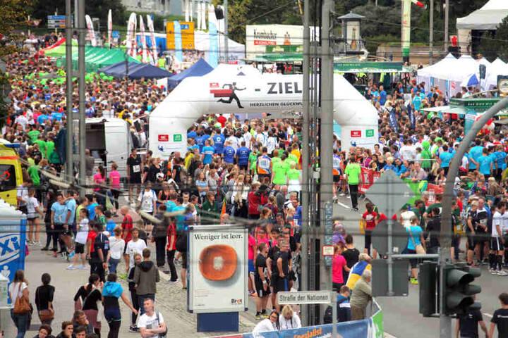 Tausende Laufbegeisterte nehmen jedes Jahr am Firmenlauf teil (Archivfoto).