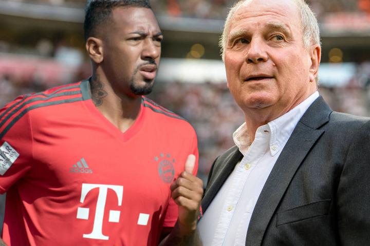Jérôme Boateng (l.) hatte den Verantwortlichen seinen Wechselwunsch mitgeteilt.