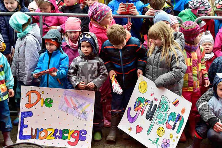 Die Schüler hatten sich auf den Auftritt gut vorbereitet.