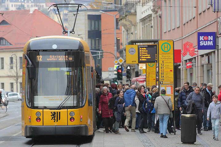 Wohl nicht vor 2035 könnten die ersten Bahn von Strehlen bis zum Schillerplatz rollen - falls überhaupt.