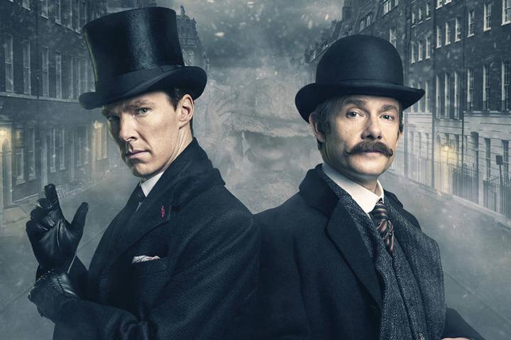 """Im März 2016 feierte die britische Sonderfolge """"Sherlock - Die Braut des Grauens"""" in der ARD Premiere."""