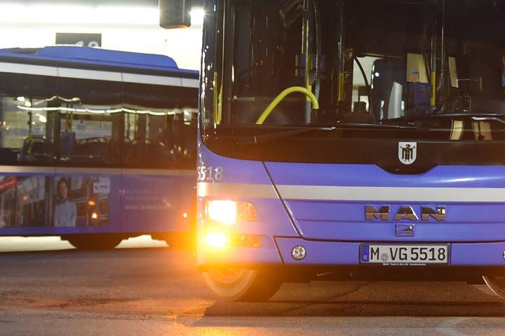 Was für ein Hindernis war dem Bus im Weg, sodass der Fahrer eine Vollbremsung machen musste? (Symbolbild)