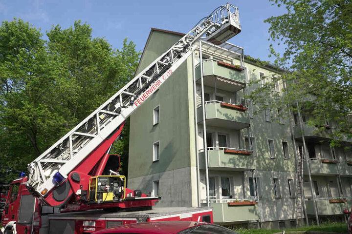 Das Feuer war in einem Mehrfamilienhaus in der Keplerstraße ausgebrochen.