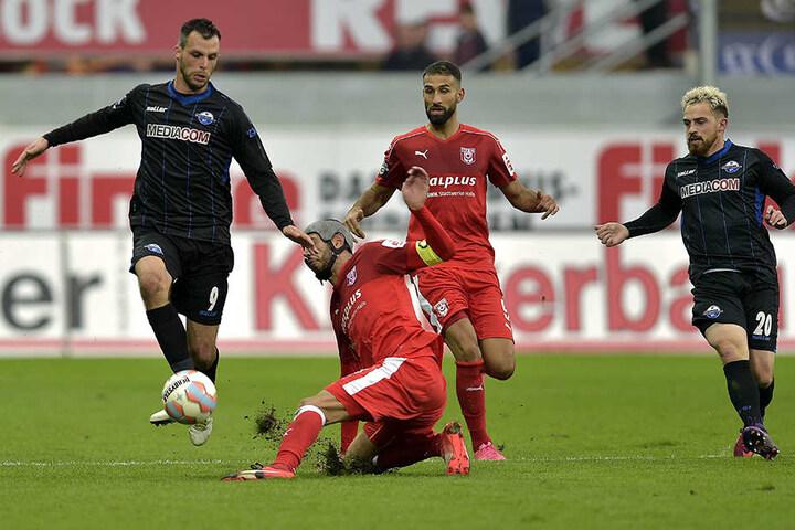 Auch Koen van der Biezen (Nr. 9) und Pascal Itter (Nr. 20) steigen wieder ins Training beim SCP ein.
