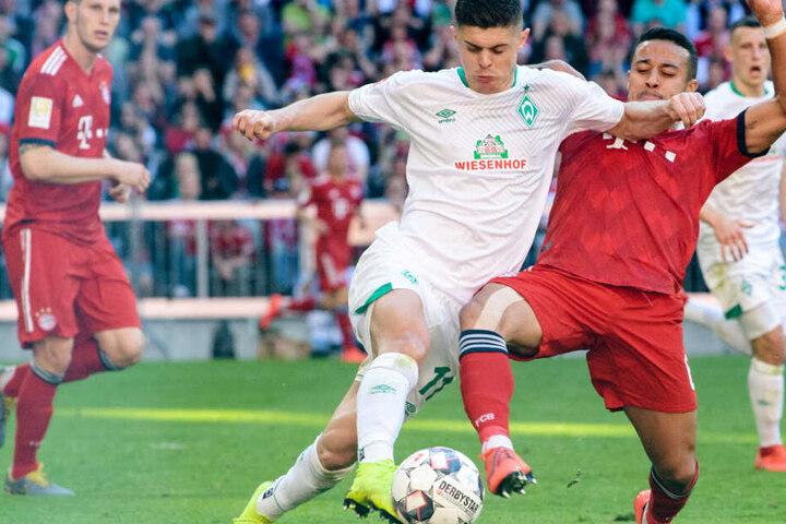 Der FC Bayern München will auch im Halbfinale des DFB-Pokals gegen Bremen gewinnen.
