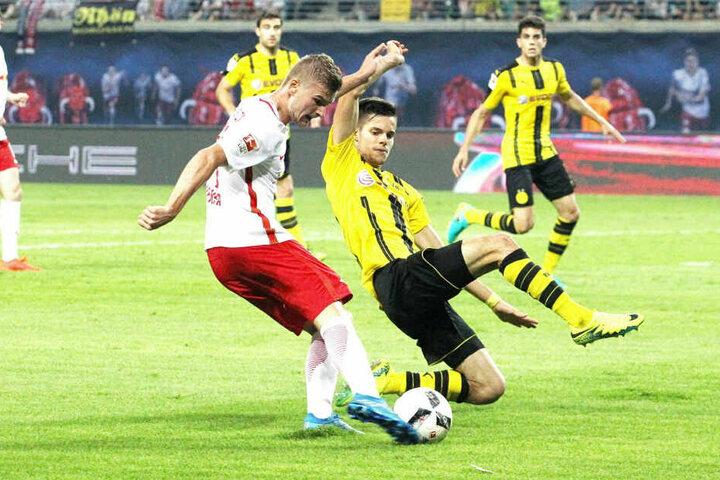 Daheim ist RB Leipzig gegen Dortmund noch ungeschlagen. Einem 1:0 im ersten Bundesligajahr folgte ein 1:1 in der letzten Rückrunde.