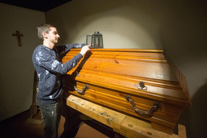 Redakteur Stefan Graf (27) hat den derzeit modernsten Chemnitzer Escape-Room in der Straße der Nationen getestet.