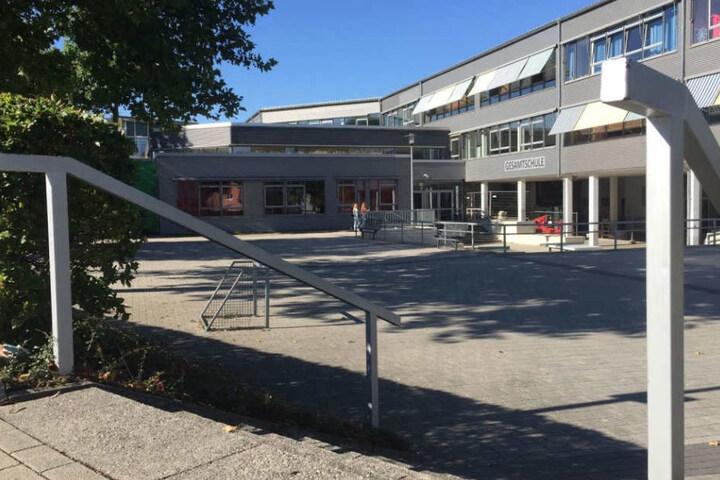 Das Gelände der Realschule Büren ist ein beliebter Treffpunkt für Alkohol- und Drogenkonsum.
