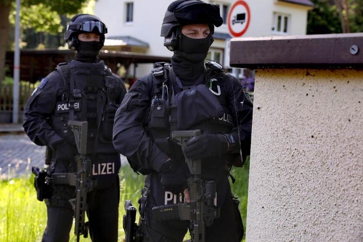 200 Polizisten sind im Einsatz.