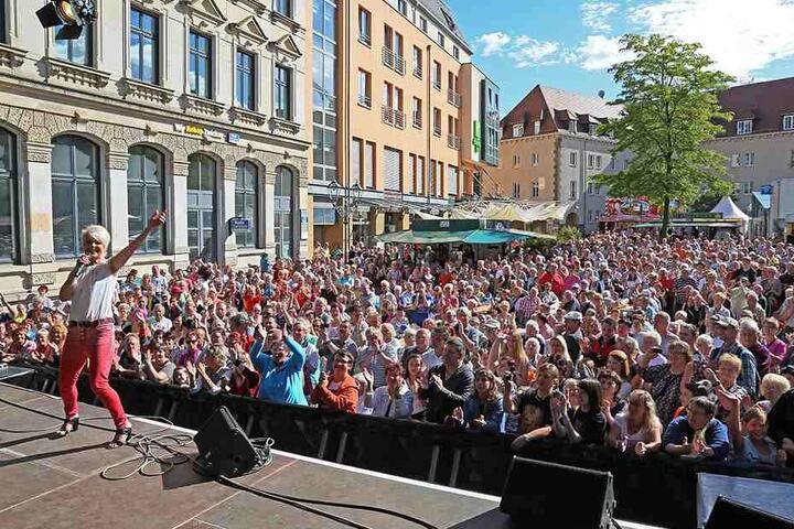 Im vergangenen Jahr kamen 150.000 Besucher: Das Zwickauer Stadtfest soll auch dieses Jahr wieder ein Zuschauer-Magnet werden.