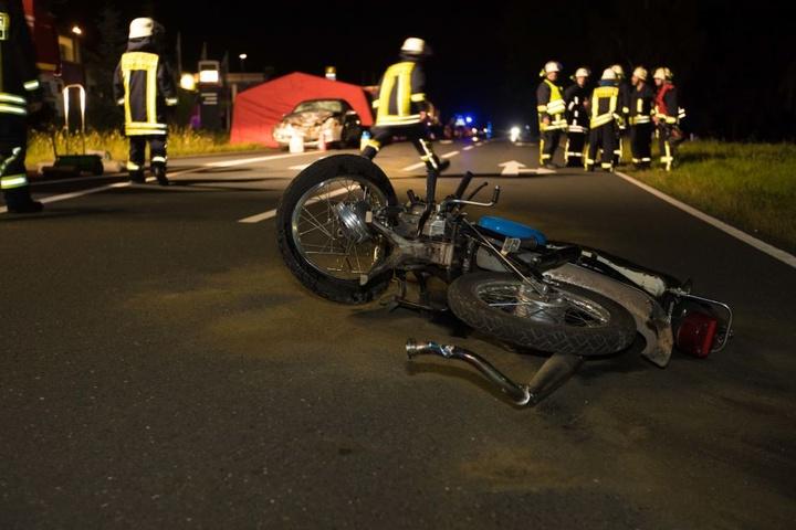 Der 53-Jährige verstarb noch an der Unfallstelle.