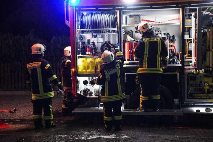Die Feuerwehr Groß Kreutz Brandenburg im Einsatz!