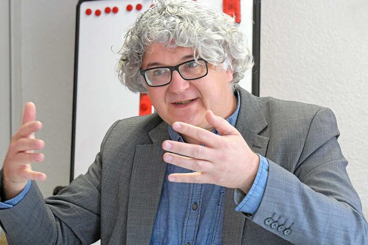Tilo Kießling (48, Linke) ist komplett gegen weitere Erhöhungen.