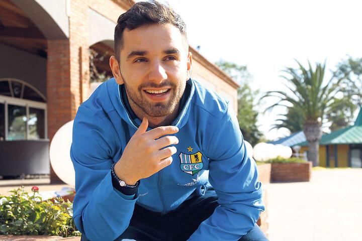 Trotz aller Probleme im bisherigen Saisonverlauf hat Okan Aydin sein Lachen nicht verloren.