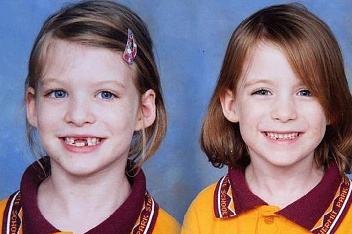 Die Schwestern wurden unversehrt gefunden.