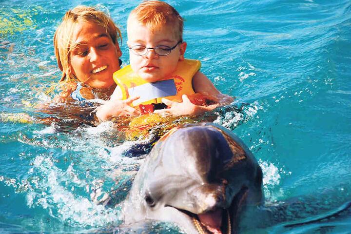 Benjamin bei einem seiner früheren  Besuche in Curacao. Leider liegt der letzte schon lange zurück.