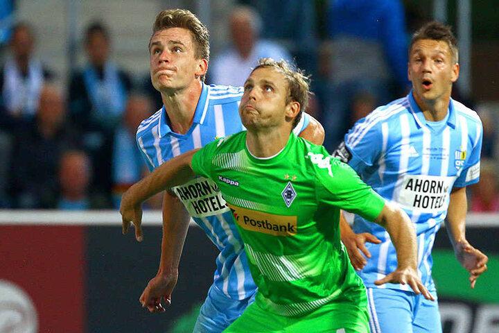 Bilden Florian Hansch (l.) und Daniel Frahn erstmals eine himmelblaue Doppelspitze?