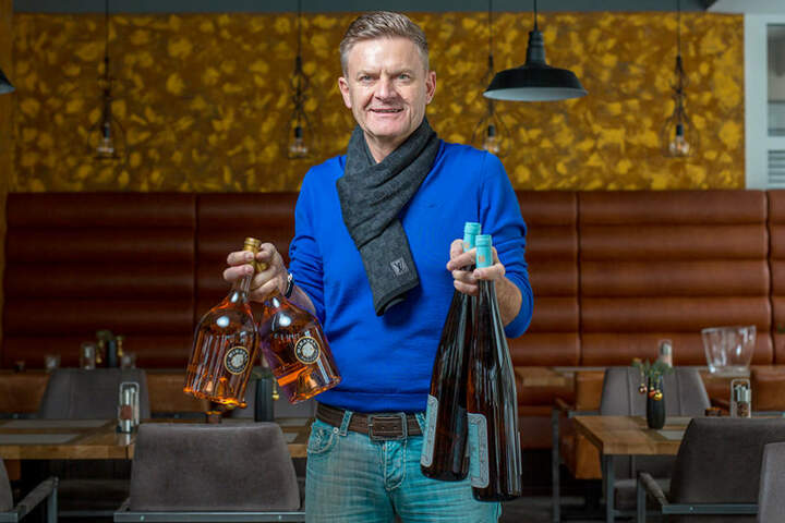 "Steffen Zuber (53) freut sich, dass ""Der Feinschmecker"" seinen ""Beef Club"" entdeckt hat."