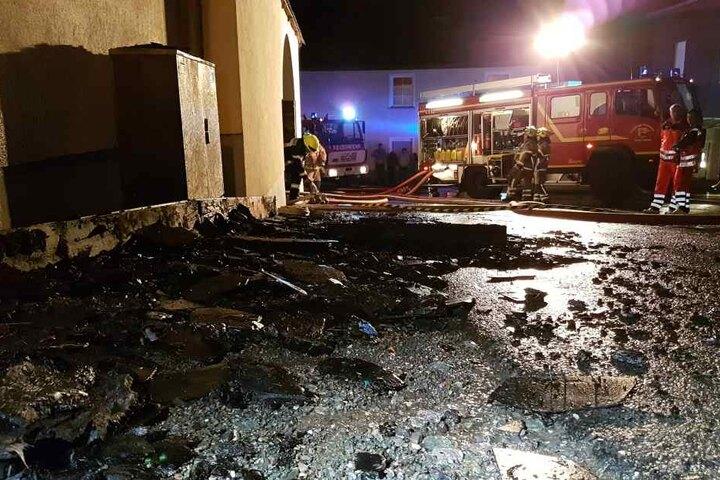 Das Feuer hinterließ einen Schaden von rund 200.000 Euro.