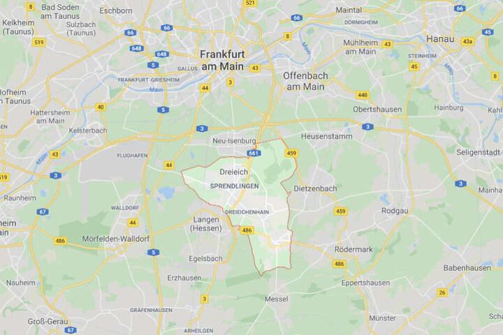 Der Vorfall ereignete sich in Dreieich.