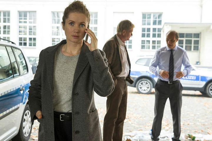 Leonie Winkler - Tatort-Kommissarin in Dresden. Sie steht in der Gehaltsliste auf den untersten Rängen.
