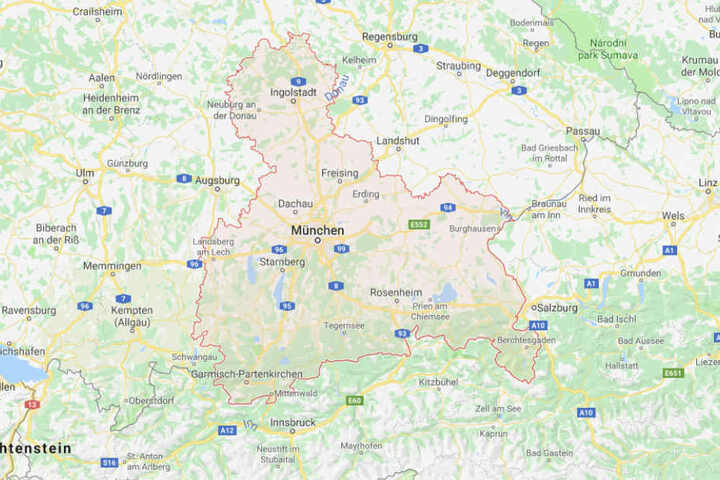 In Oberbayern und dem Freistaat kommt es laut des Deutschen Wetterdienstes zu Schneefall.