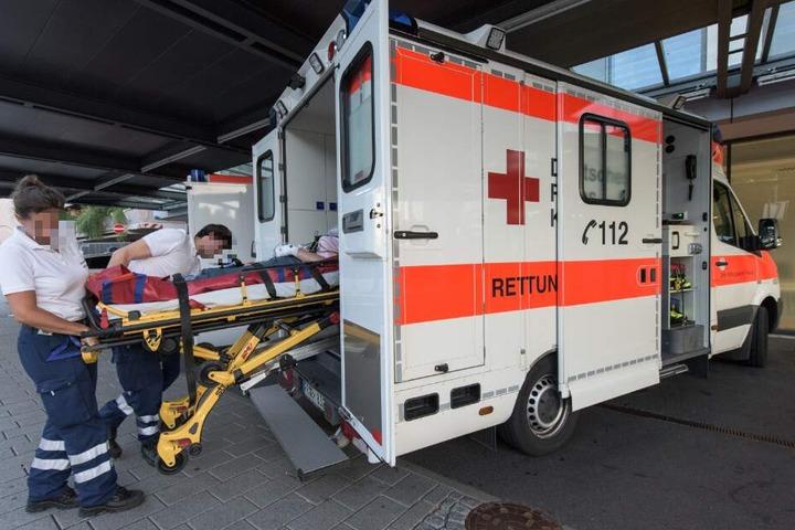 Die Verletzten kamen ins Krankenhaus. (Symbolbild)