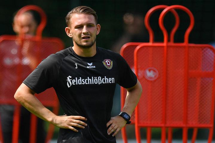 Marc Wachs trainiert mittlerweile wieder mit der Mannschaft.