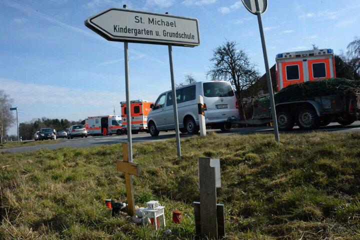 Zahlreiche Rettungswagen waren im Einsatz.