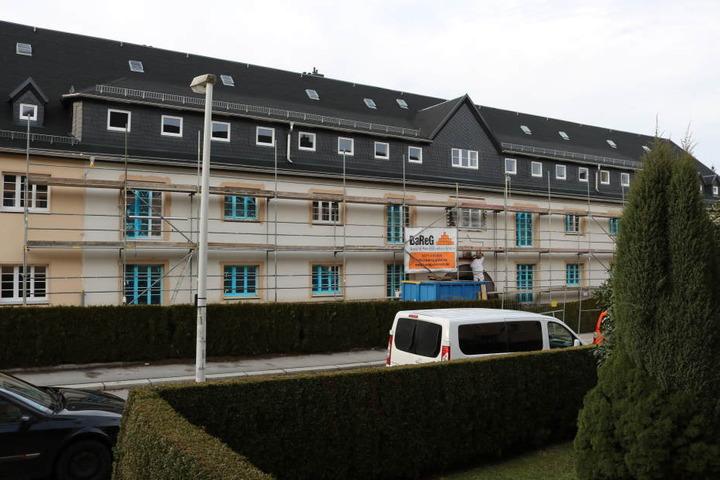 Die GGG saniert derzeit ein Wohnhaus in der Sandstraße.
