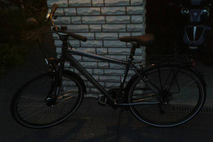 Mit diesem Fahrrad soll Tim unterwegs gewesen sein.