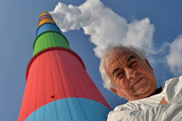 Der französische Künstler Daniel Buren hat sich die Farbkonzeption für die Lulatsch ausgedacht.