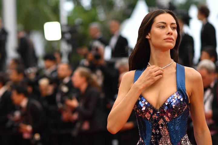 """Schauspielerin Marica Pellegrinelli im Mai auf den 72. Internationalen Filmfestspielen in Cannes für den Film """"The Staggering Girl"""""""
