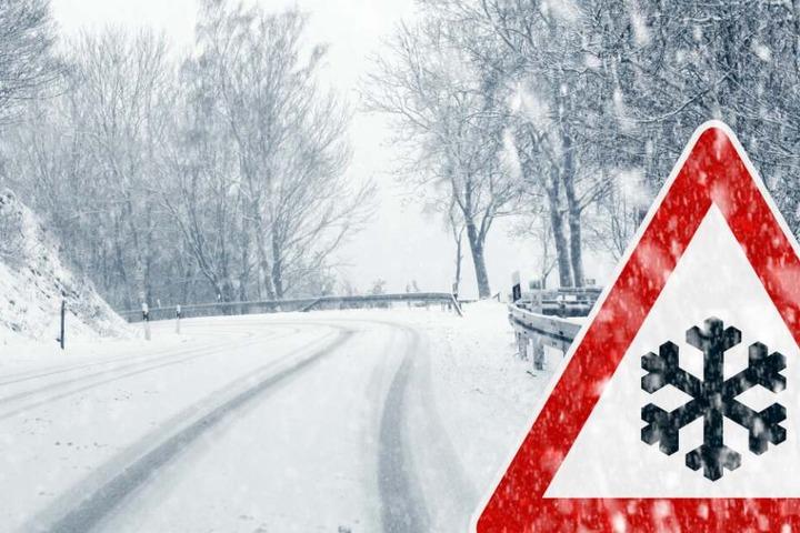 Autofahrer müssen erneut mit verschneiten Straßen rechnen. (Symbolbild)