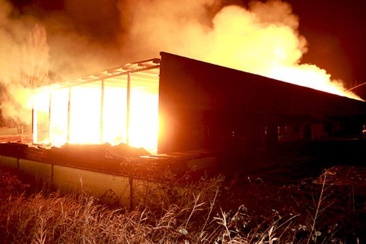 Fabian S. wird verdächtigt, den Brand gelegt zu haben. Er wurde Ende März festgenommen.