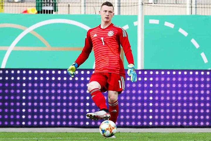 Markus Schubert ist seit der U17 deutscher Junioren-Nationalkeeper.