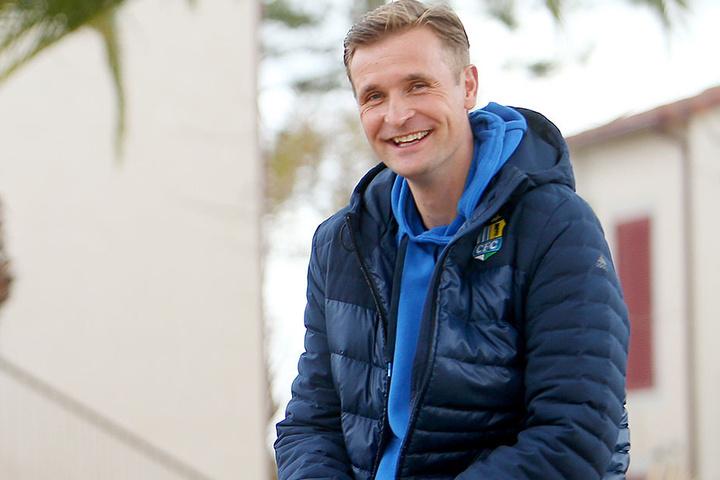 Der neue CFC-Coach David Bergner war zufrieden mit dem Trainingslager im spanischen Salou und sieht seine Mannschaft auf einem guten Weg.