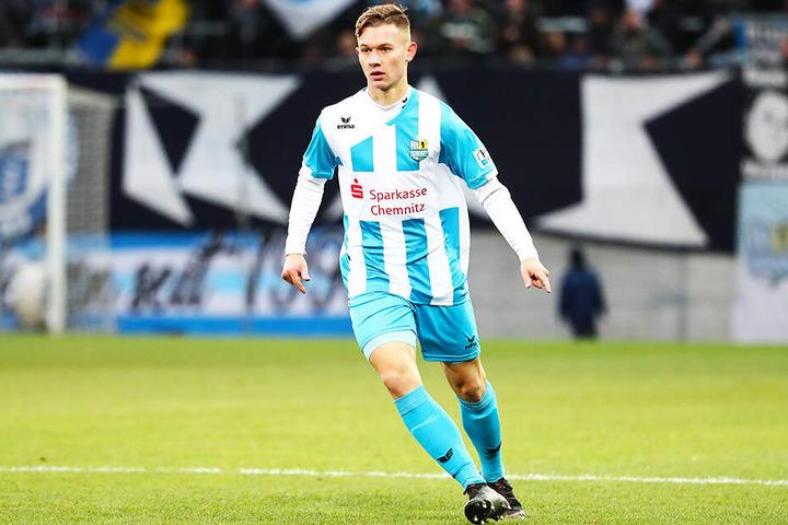 Nur dank Erik Tallig und seinem Ehrentor hat die U19 überhaupt noch eine Restchance auf die Bundesliga.