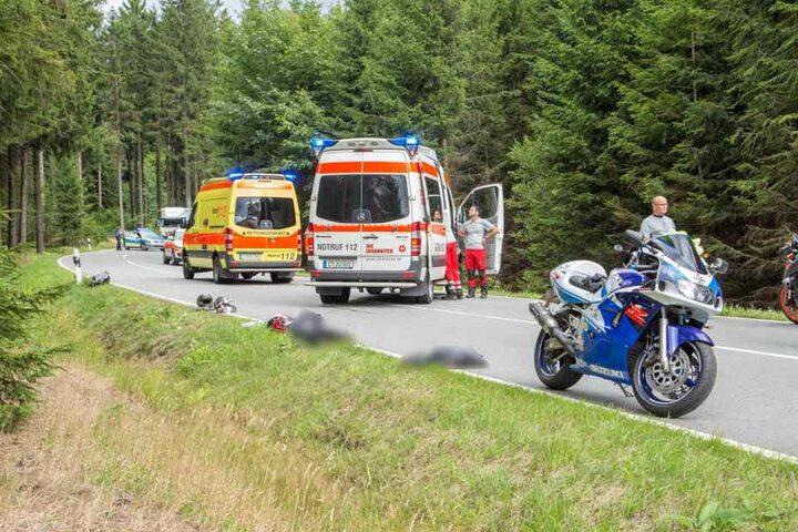 Die Staatsstraße 260 wurde für drei Stunden gesperrt.
