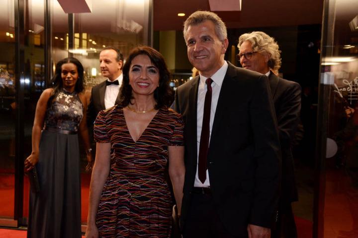 Landtagspräsidentin Muhterem Aras (Grüne) mit Ehemann Sami .