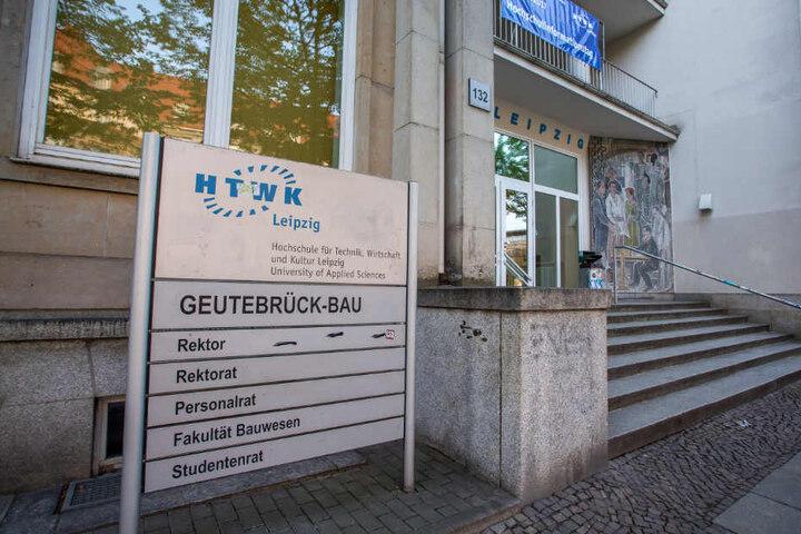 Die HTWK in Leipzig.