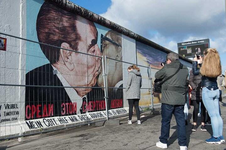 Neu in der Liste ist unter anderem die East Side Gallery in Berlin.