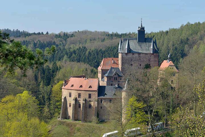 Die Burg Kriebstein ist für Hochzeiten beliebt, jährlich trauen sich bis zu 50 Paare.