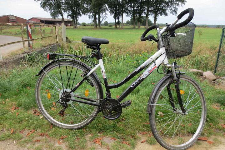 Mit diesem Fahrrad war Nikola unterwegs.