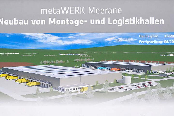 Die Meta-Werke in Meerane sind derzeit die größte Investition in der Region.